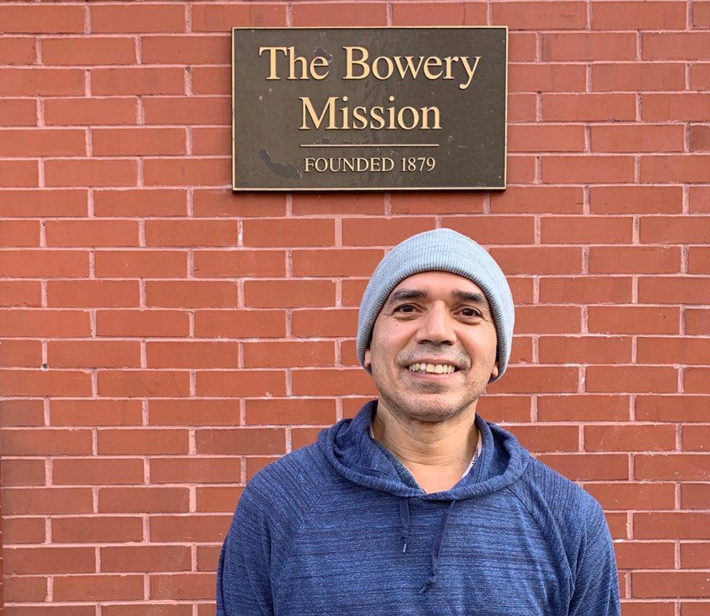 Rafael at Bowery campus