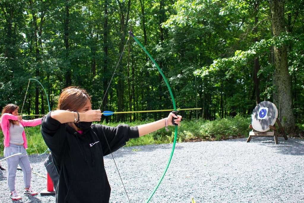 Archery at Mont Lawn Camp